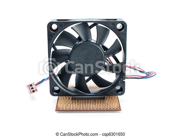 Microprocessor and fan - csp6301650
