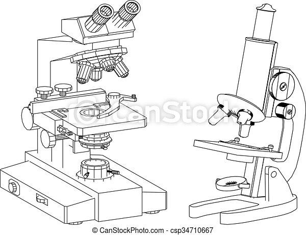 microscope - csp34710667