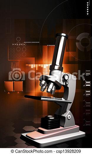 Microscope - csp13928209
