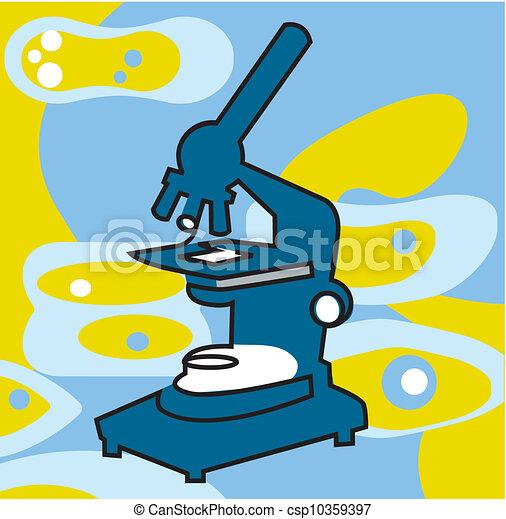 Microscope - csp10359397
