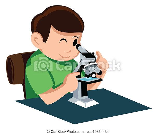 Microscope - csp10364434