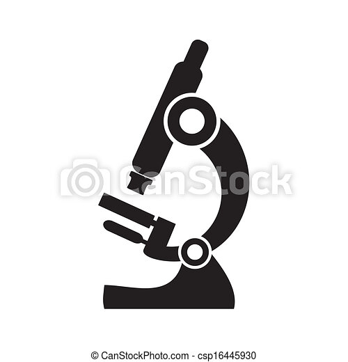Microscope icon - csp16445930