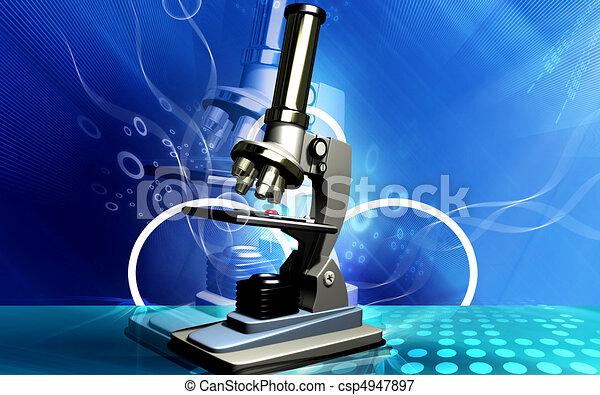 Microscope - csp4947897
