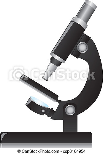 microscope vector - csp8164954