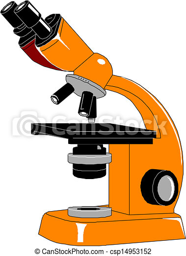 microscope vector illustration rh canstockphoto com microscope clipart with label microscope clipart images