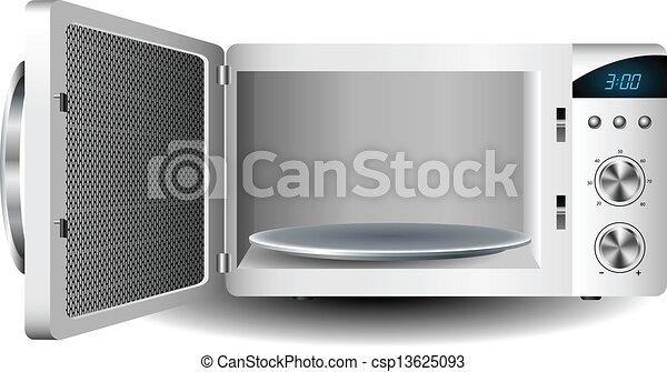 Microwave oven - csp13625093