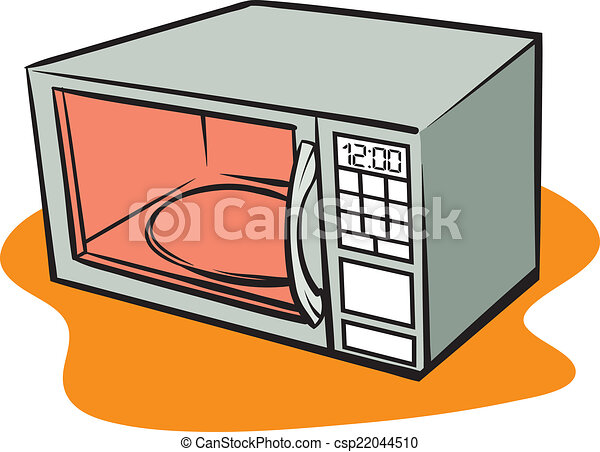 an illustration of a retro microwave oven vector clip art search rh canstockphoto com microwave clipart images microwave clipart images