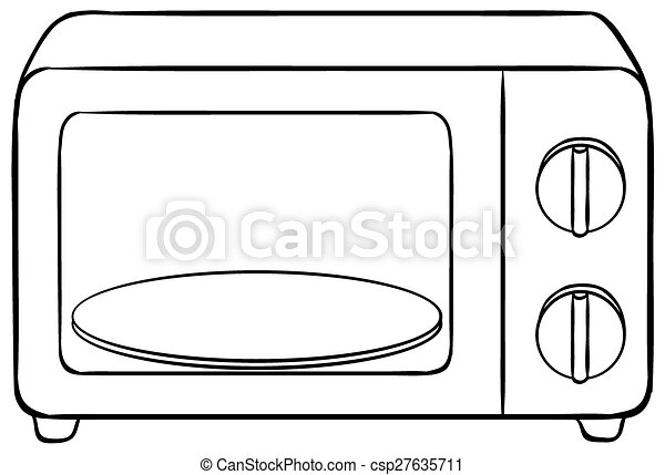 close up microwave oven with tray vector clip art search rh canstockphoto com microwave clipart images microwave oven clipart free