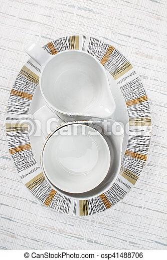 Mid Century Modern Kitchen Ware - csp41488706