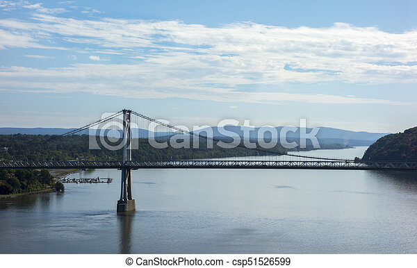 Mid-Hudson Bridge Over the Hudson - csp51526599