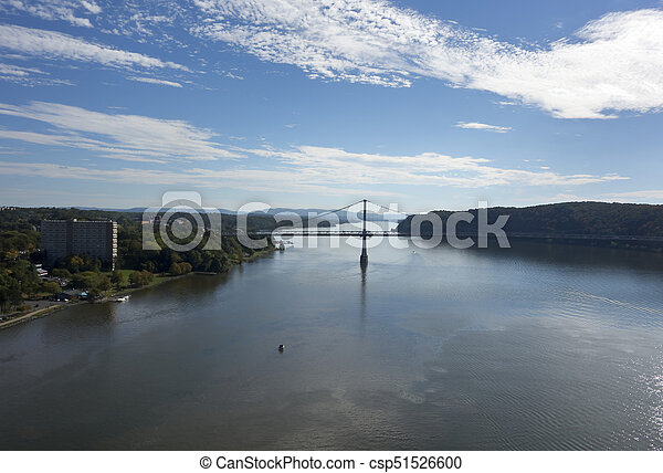 Mid-Hudson Bridge Over the Hudson - csp51526600