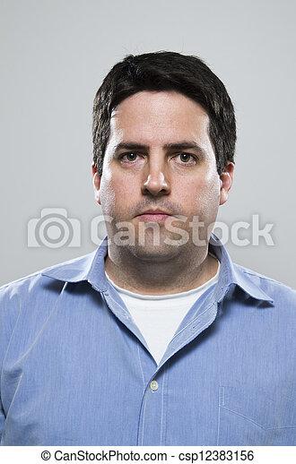 Mid Thirties Blue Collar Worker