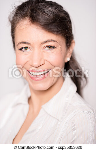 Middle aged woman - csp35853628