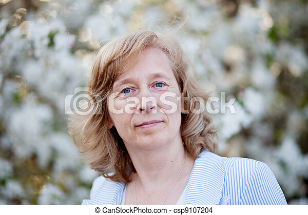 middle-aged woman - csp9107204