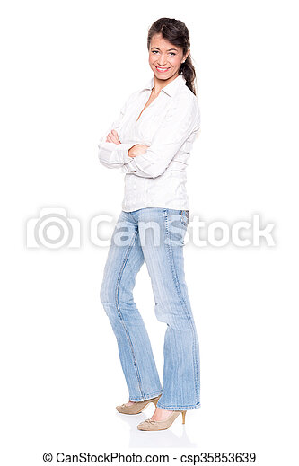 Middle aged woman - csp35853639