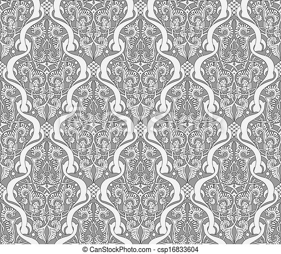 Middle Eastern Arabic Pattern Intricate Seamlessly Tilable Awesome Middle Eastern Patterns