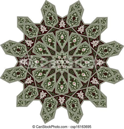 Middle Eastern Floral Pattern Motif Arabic Middle Eastern Floral Inspiration Middle Eastern Patterns