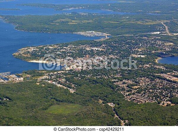 Midland, Ontario aerial - csp42429211