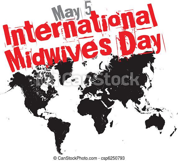 midwives, internacional, dia - csp6250793