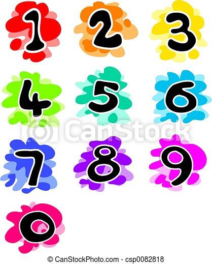 Números divertidos - csp0082818