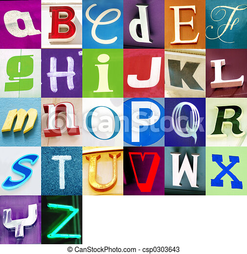 miejski, alfabet - csp0303643