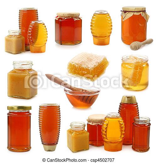 Una colección de miel - csp4502707