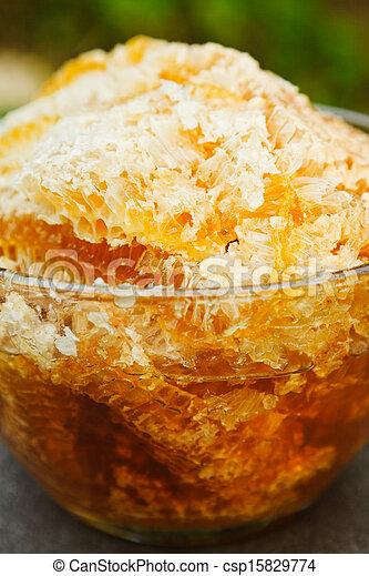 Dulce fresca en peine - csp15829774