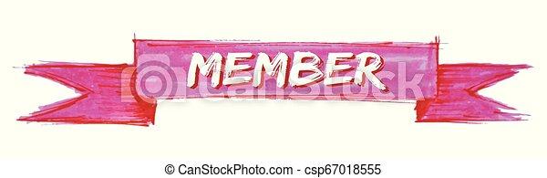 miembro, cinta - csp67018555