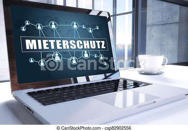 mieterschutz - csp82902556