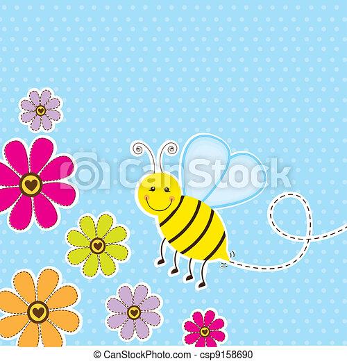 mignon, abeille - csp9158690
