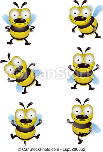 mignon, collection, abeille - csp5280062