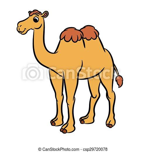 Mignon dessin anim illustration chameau mignon - Dessin de chameau ...