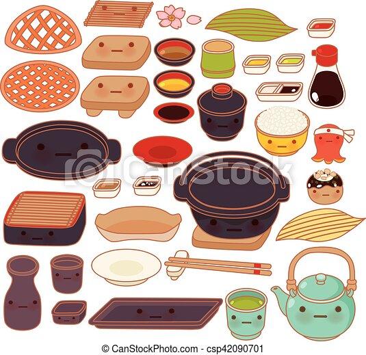 Mignon ensemble doux japonaise kawaii girly - Ustensile cuisine japonaise ...