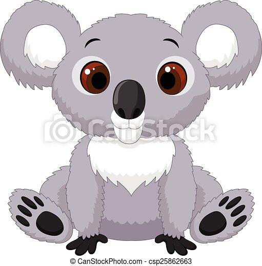 Mignon Koala Dessin Anime Seance Mignon Koala Seance