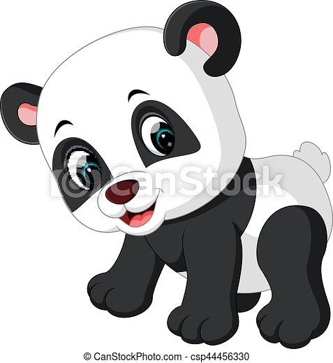 Mignon Panda Dessin Animé