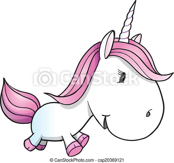 Mignon vecteur poney licorne mignon poney illustration vecteur licorne art - Dessin licorne facile ...