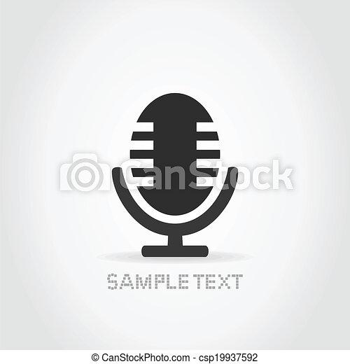 mikrofon - csp19937592