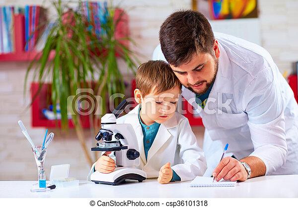 Mikroskop versuch hilft verhalten lehrer kind.