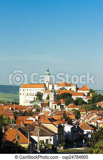 Mikulov, Czech Republic - csp24784905