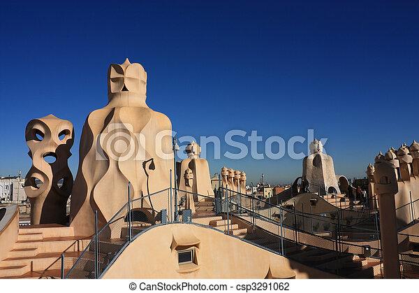 Mila Casa Gaudi Barcelona