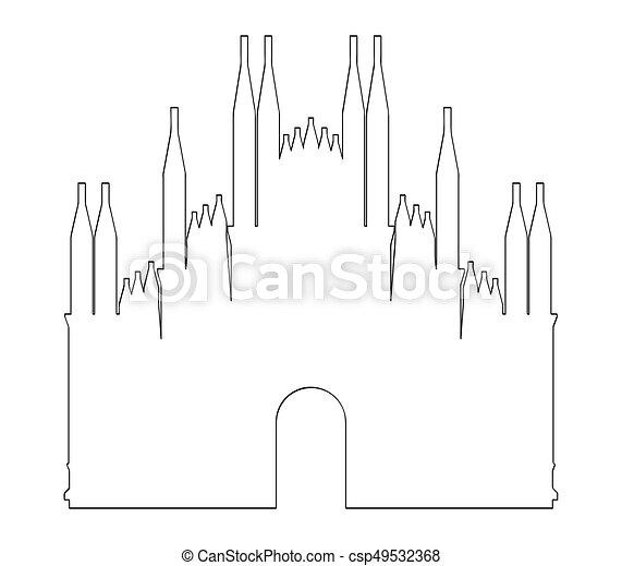 Milan Cathedral - csp49532368
