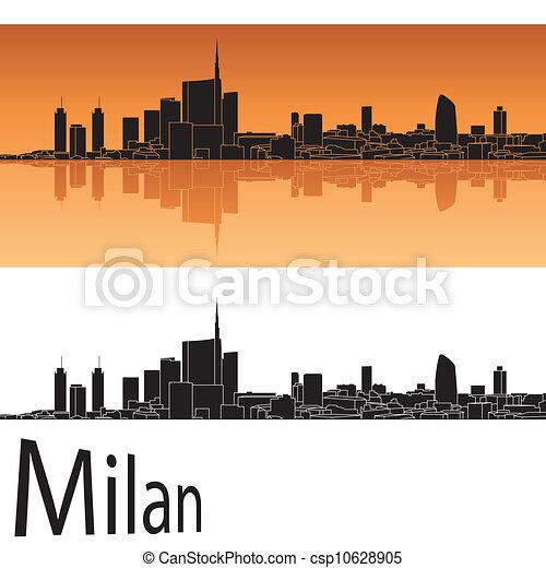El horizonte de Milán - csp10628905