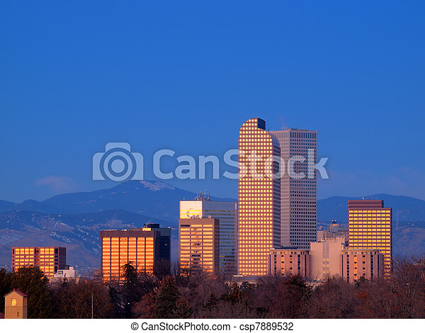 Mile High City of Denver - csp7889532