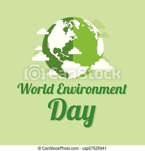 milieu, aarde, woord, dag, achtergrond - csp57525941
