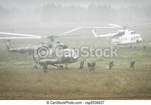 militär, operation - csp2536637