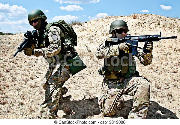 militär, operation - csp13813006