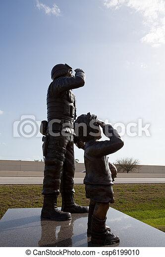 militär, statyer - csp6199010