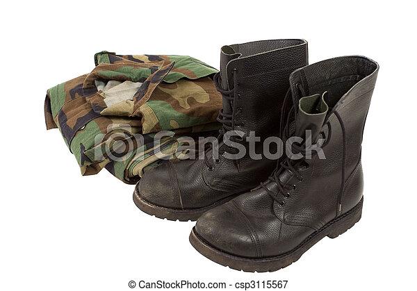 Militäruniformen - csp3115567