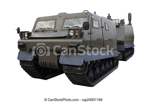 militärisches fahrzeug - csp24931166