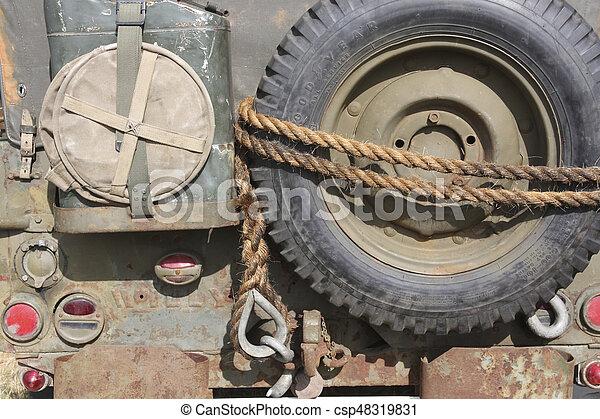 militärisches fahrzeug - csp48319831